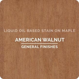 american walnut on maple