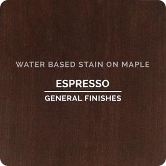 espresso on maple