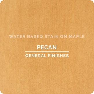 pecan on oak