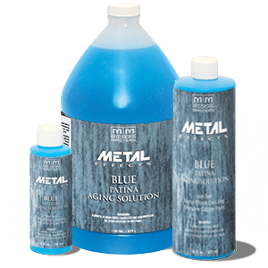 Blue Patina Aging Solution