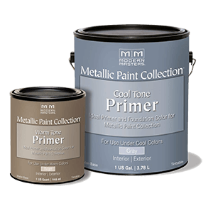 Metallic Paint Collection – Cool and Warm Tone Primers