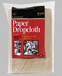 TUFCO 9′ X 12′ PAPER DROP CLOTH